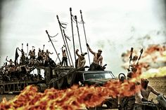 This Mad Max Stuntwoman Snapped Pics From Inside a Flaming War Machine Mad Max  #MadMax