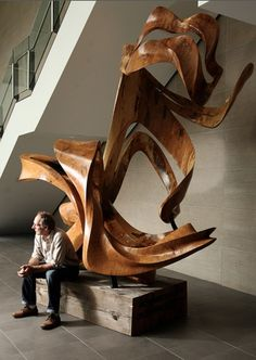 David Fels' newest carving is big, bold and utterly magnificent.