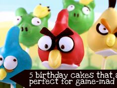 5 birthday cakes for gamers!Village Voices
