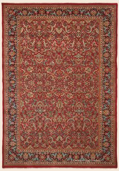 "MAHAL, 11' 8"" x 16' 8"" — Circa 1925 — Price: $13,000, West Central Persian Antique Rug - Claremont Rug Company  Click to learn more about this rug."