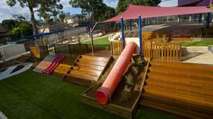 Tessa Rose Landscapes — Natural Playspace Design - Sustainable and Inspiring Environments Kids Outdoor Play, Outdoor Play Spaces, Backyard For Kids, Outdoor Fun, Backyard Ideas, Backyard Games, Outdoor Decor, Kids Play Spaces, Kids Play Area
