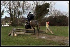 Seamus jumping cross country 28th Feb 2014