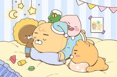 Kakao Friends, Emoticon, Cute Drawings, Cute Wallpapers, Coloring Books, Pikachu, Anime, Family Guy, Funny