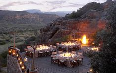 Dining - Bushmans Kloof, Cederberg Mountains, South Africa Luxury Safari Lodges