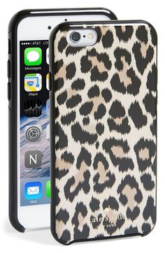 kate spade new york 'leopard ikat' iPhone 6 case available at #Nordstrom
