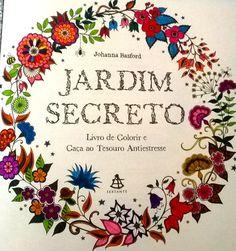 Abertura do ''Jardim Secreto'' de Johanna Basford.