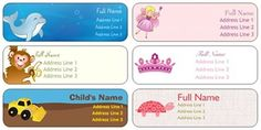 140 Free Child Belonging Labels... use to label backpacks, books, back-to-school items, etc!! {just pay s/h}