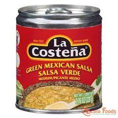 La Costena Green Mexican Salsa Medium 7.76 oz