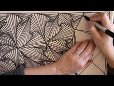 Paradox tangling for 25 minutes! | ASMR Doodling 2 by Sophie (Whispering, drawing, cutting, crinkling sound...