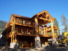 Golden, BC, Canada My House, Canada, House Design, Cabin, Mansions, House Styles, Home Decor, Mansion Houses, Homemade Home Decor
