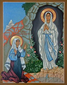 Blessed Memorial of the Apparitions of Our Lady of Lourdes/Our Lady of the Immaculate Conception – (11 February and 16 July of 1858) – Patron of the ill and infirm, protection from disease, France, 6 cities and a Diocese.,,,