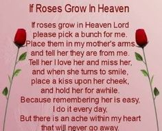 30 Poems About Death For you Loved One�s RIP
