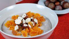 Pohanková kaše s meruňkami a oříšky