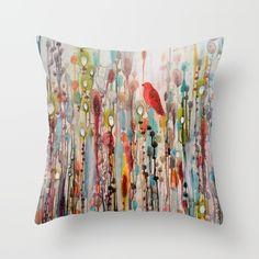 gorgeous Sylvie Demers design $30.00  https://society6.com/product/la-vie-comme-un-passage_pillow?curator=tamaraben