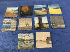 Ten Tiny Tapestries Take a Bath - a field guide to needlework
