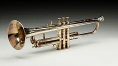 Louis Armstrong's Selmer Trumpet. Now on display at the Smithsonian