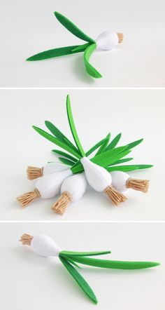 Baby shower gift green onion felt organic baby toy toddler eco friendly toy kids gift for baby role play felt food fruit toy set - Shop onions - Cadeau Baby Shower, Baby Shower Gifts, Baby Gifts, Green Gifts, Toddler Gifts, Gifts For Kids, Felt Food Patterns, Felt Fruit, Organic Baby Toys