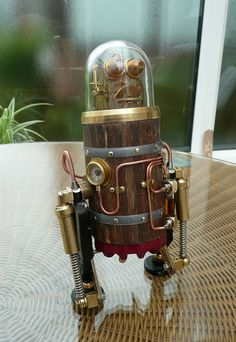 Cute little robot...by spyduck, via Flickr
