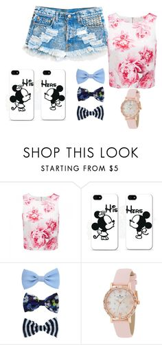 """""""Untitled #14"""" by sara-bitch1 ❤ liked on Polyvore featuring beauty, Forever New, Samsung and Kate Spade"""