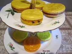Passionfruit & Orange Macroons