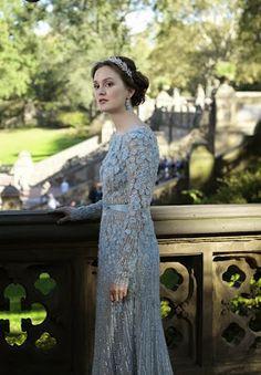 Blair Waldorf's wedding dress. I love her headpiece the best, so pretty!