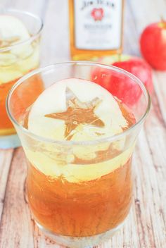 Bourbon-Apple Sidecar - the perfect fall drink!