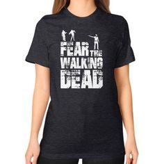 Fear the walking dead Unisex T-Shirt (on woman)