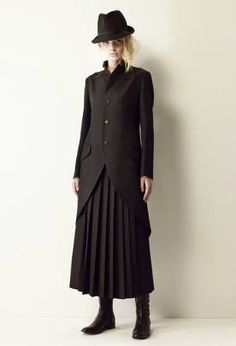 Yohji Yamamoto/Noir collection 2011/2012  noir-as always