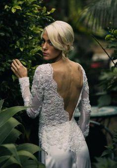 Jennifer Regan Renee gown.