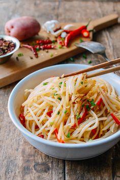 Sichuan Stir-Fried Potatoes