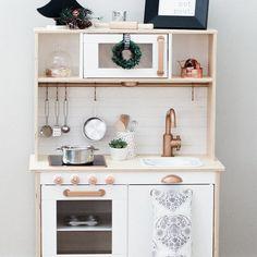 Kitchen makeover ideas ikea hacks new Ideas Ikea Toy Kitchen Hack, Diy Play Kitchen, Kitchen Redo, Mud Kitchen, Kitchen Remodel, Ikea Toys, Room Interior, Decoration, Bedroom Decor