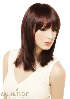 Introducing our newest auburn hair color series. Looks amazing with this shaggy short look. Bangs w shoulder length layers.