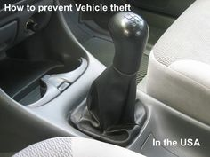 how to prevent vehicle theft in the usa