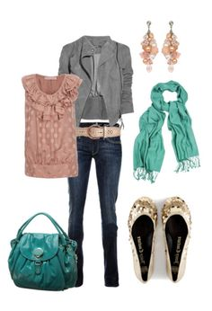 A jaunt through Central Park in Spring and lunch at Little Italy - http://www.polyvore.com/cgi/set?id=22218218