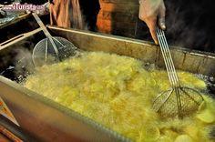 Patatine fritte Mercatino Natale Praga