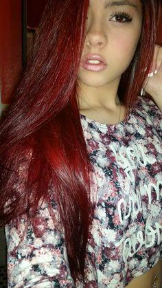 Hair Color Splat Crimson Obsession