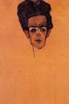 Egon Schiele, Self-Portrait, 1910