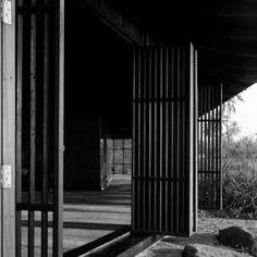 Tara House - Studio Mumbai by Helene Binet Helene Binet, Studio Mumbai, Shading Device, House Studio, Brutalist, Facades, South Africa, Fence, Vacation