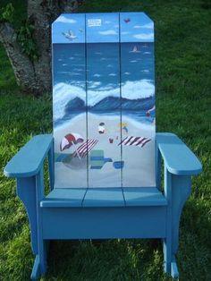 Beach Chair just add Flip Flop Chairwear Chairwearbythesea.com