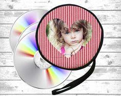 porta cd con grafica rossa per innamorati