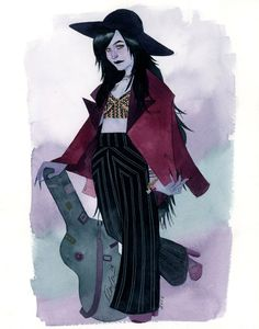kevin wada illustration: Marceline Fashionized ECCC 2015 commission