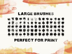 75 High Quality Watercolor Photoshop Brushes (Vol.2)
