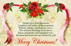 The journey of life is with many twists and turns. But with faith and courage, no obstacle can stop you from reaching your goals. Keep faith, peace and kindness in your heart, and you shall always shine. Merry Christmas