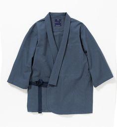 ミーンズワイル、パッカブル仕様の作務衣発売 | Fashionsnap.com Haut Kimono, Kimono Coat, Kimono Fashion, Fashion Outfits, Dynasty Clothing, Rare Clothing, Baggy Clothes, Men In Uniform, Japanese Outfits
