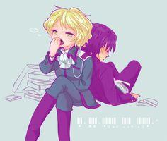 *dies from moeness(? Kyo Kara Maoh, Shounen Ai, Anime, Yuri, Fan Art, Poses, Manga, Ships, Fictional Characters