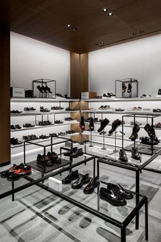 selfridges shoe gallery | london | by vincent van duysen.