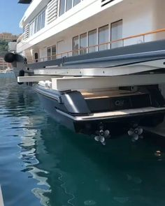 This yacht can house a boat most people would be happy with. Luxury Yacht Interior, Luxury Cars, Luxury Vehicle, Luxury Houses, Luxury Vinyl, Luxury Apartments, Luxury Travel, Yacht Design, Boat Design