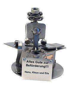 Schraubenmännchen Buchhalter oder Archivar - Online Geschenkeshop mit Schraubenmännchen mit Widmung und mehr