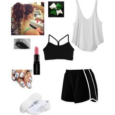 Cheer Tryouts by Eli5SOS on Polyvore