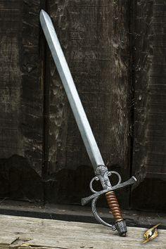 Larp Inn - Polyurethane Hybrid Larp Weapons Perfect for Cosplay & Theater Katana, Swords And Daggers, Knives And Swords, Larp, Shuriken, Rapier Sword, Fencing Sword, Arsenal, Landsknecht